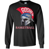 Men's Long Sleeve T-Shirt - Goshen Basketball