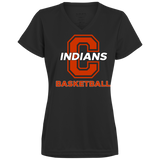 Women's Moisture Wicking T-Shirt - Cambridge Basketball - C Logo