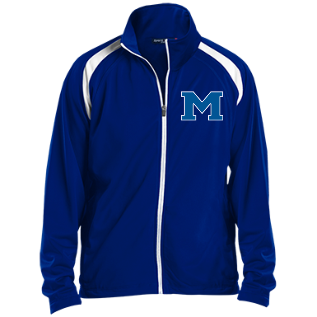 "Youth Windbreaker - Middletown Block ""M"""