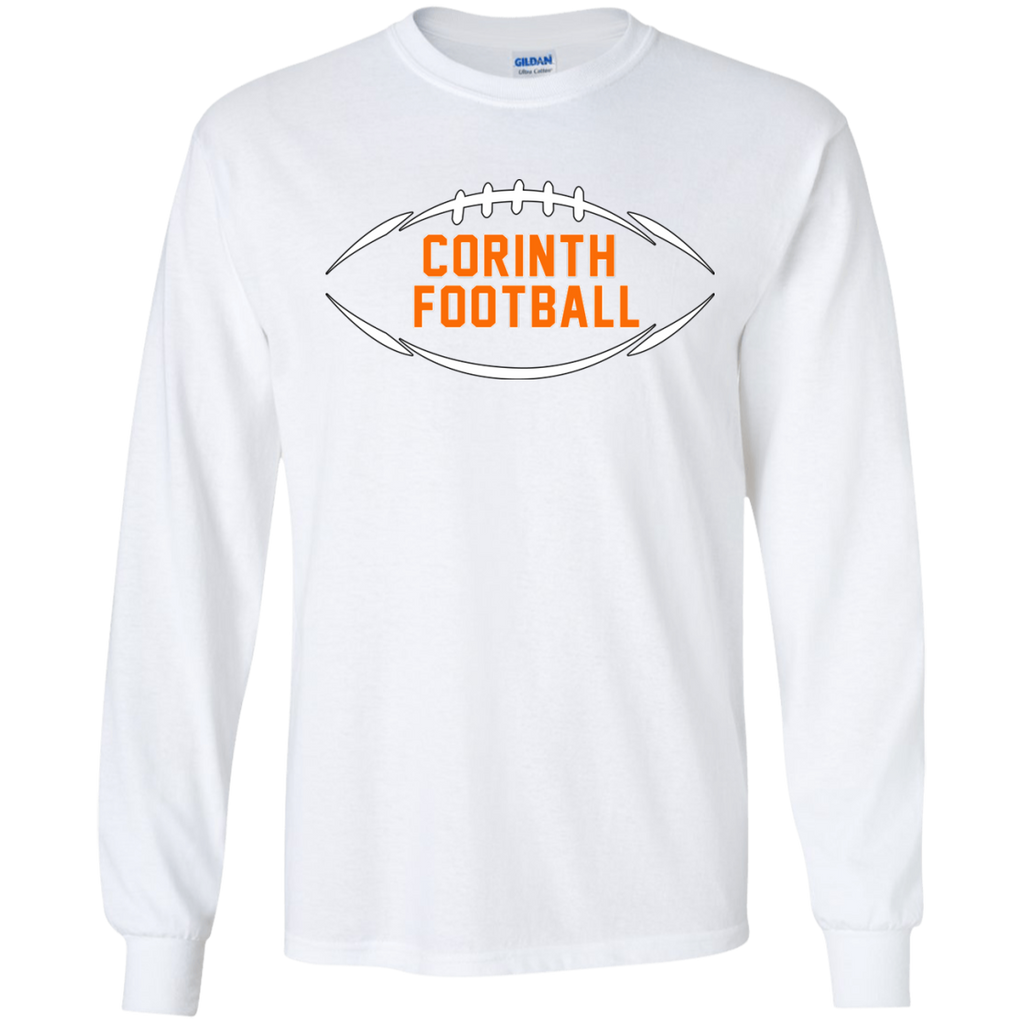 Men's Long Sleeve T-Shirt - Corinth Football