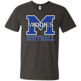 Men's V-Neck T-Shirt - Middletown Softball