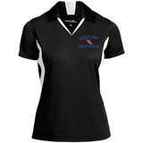 X-Country Vector Logo Outline_Pantone LST655 Sport-Tek Ladies' Colorblock Performance Polo