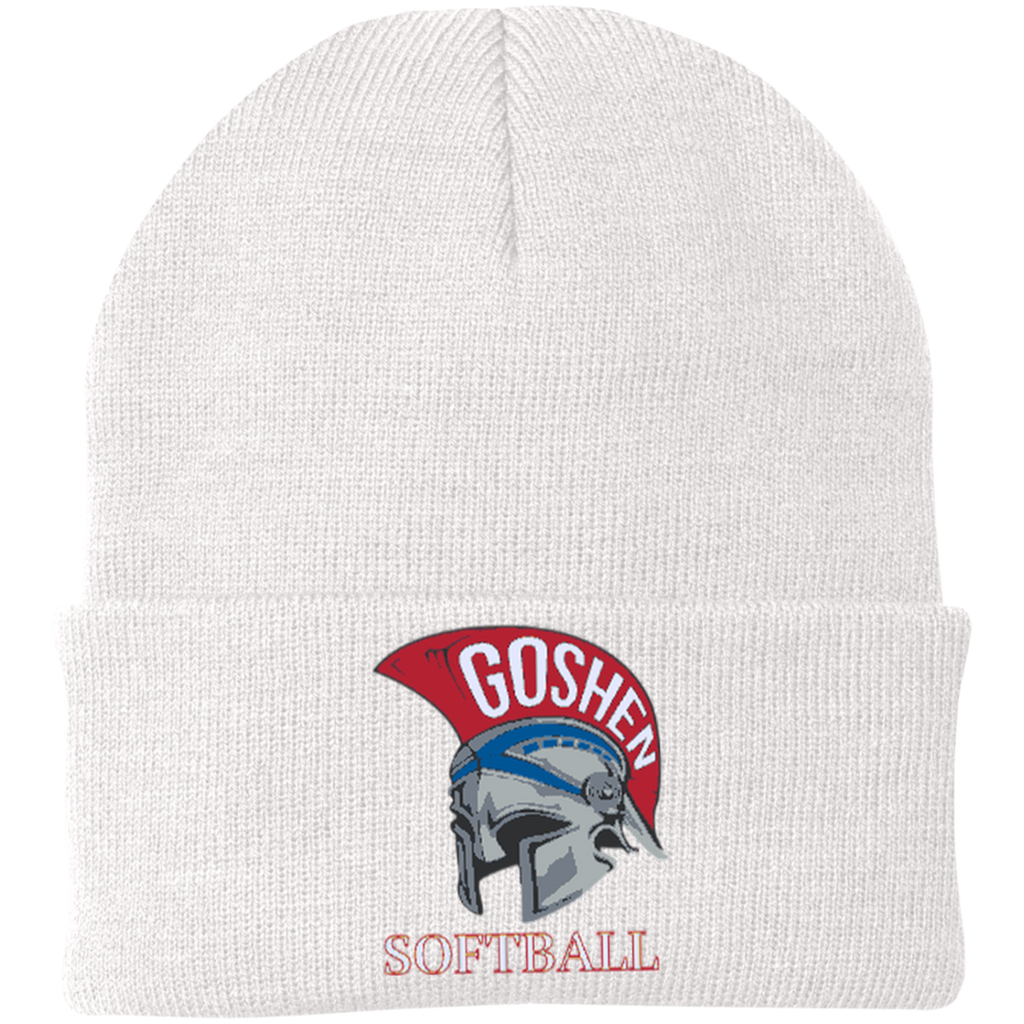 Knit Winter Hat - Goshen Softball