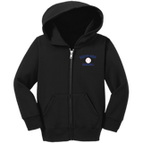 Toddler Full-Zip Hooded Sweatshirt - South Glens Falls Baseball