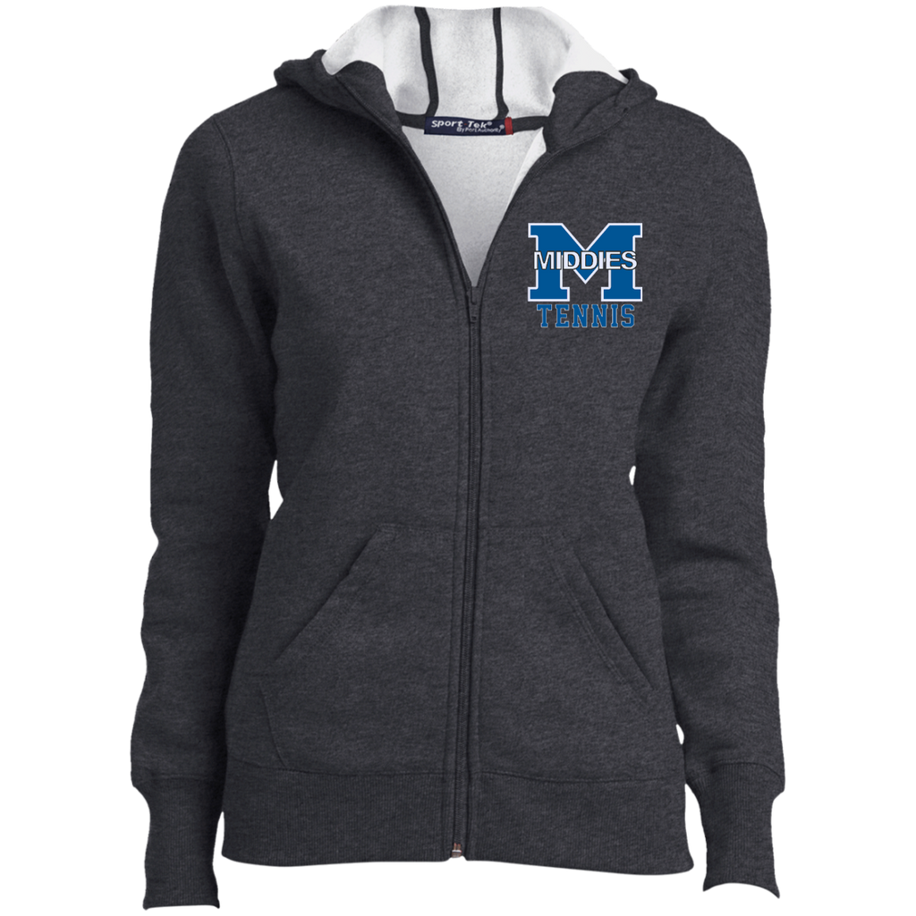 Women's Full-Zip Hooded Sweatshirt - Middletown Tennis