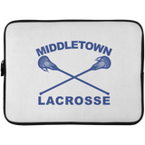 Laptop Sleeve - 15 Inch - Middletown Girls Lacrosse - Sticks Logo