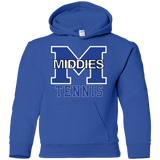 Youth Hooded Sweatshirt - Middletown Tennis