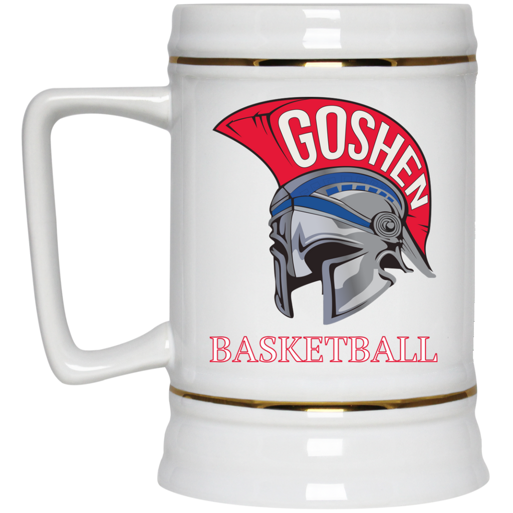 22 oz. Stein - Goshen Basketball