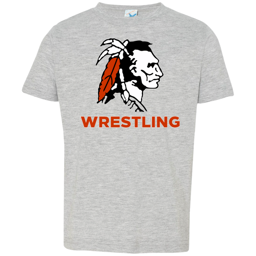 Toddler T-Shirt - Cambridge Wrestling - Indian Logo