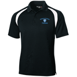 Men's Colorblock Slim Fit Moisture Wicking Polo - Middletown Tennis - Bear Logo