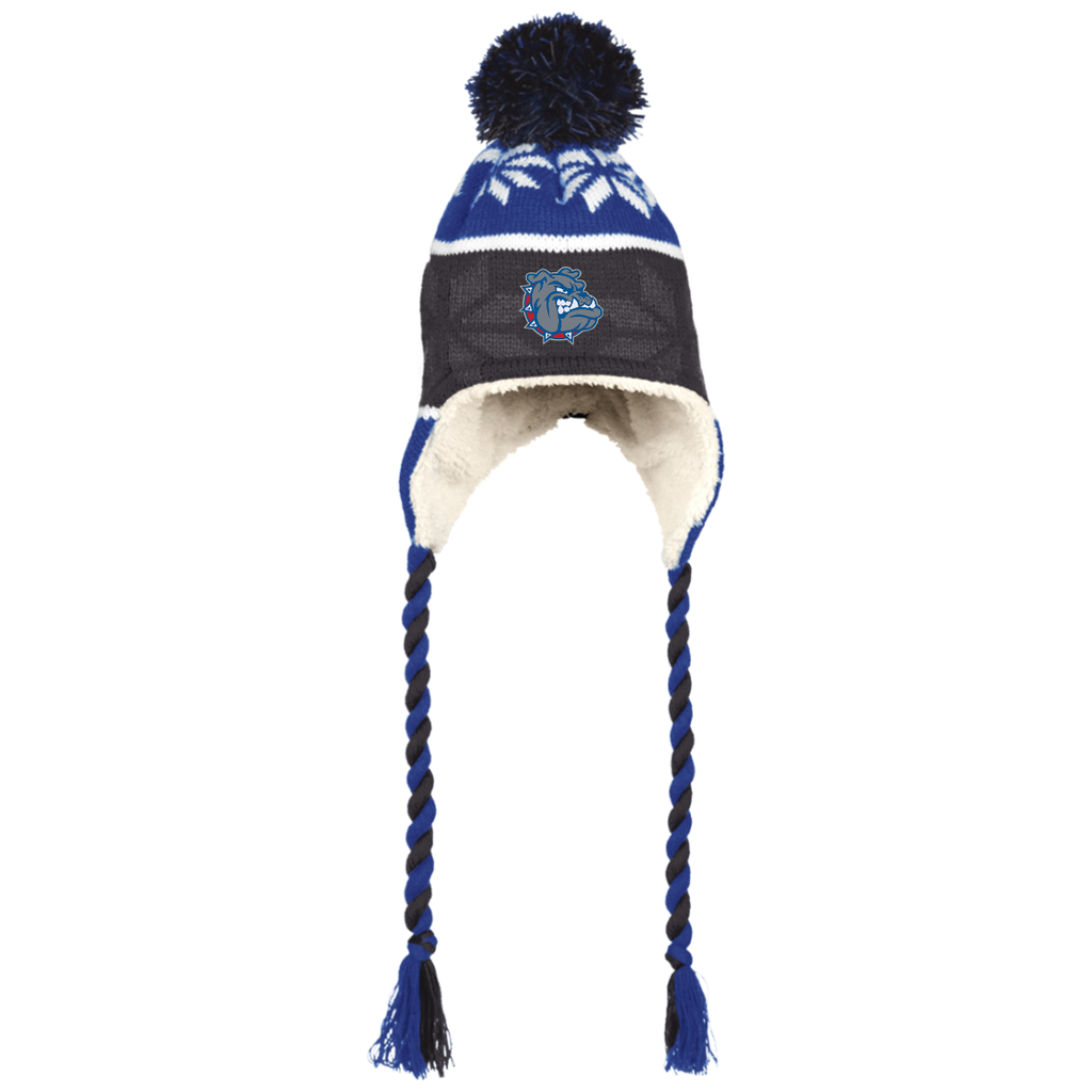 223825 Holloway Hat with Ear Flaps and Braids