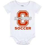 Baby Onesie 12 Month - Cambridge Soccer - C Logo