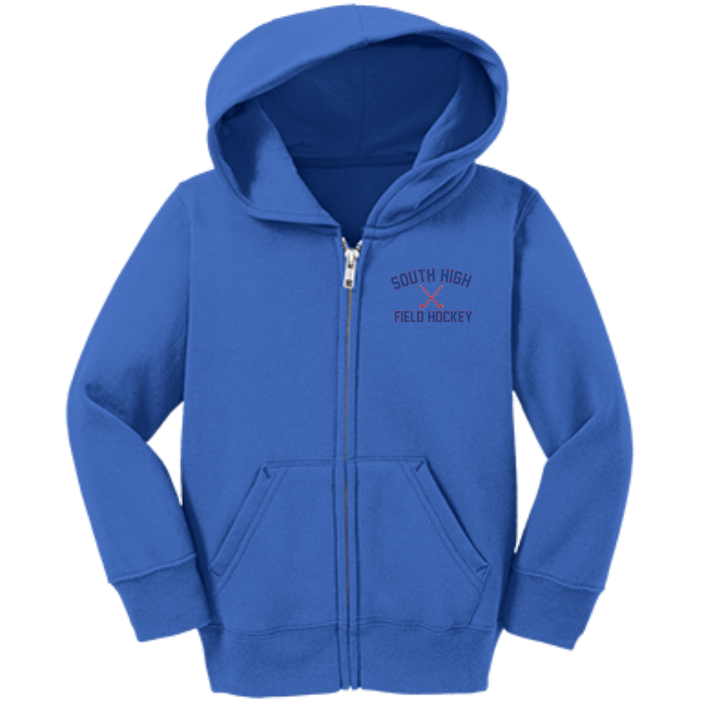 Toddler Full-Zip Hooded Sweatshirt - South Glens Falls Field Hockey