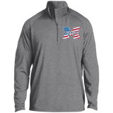Men's Performance Quarter Zip Sweatshirt - Middletown American Flag