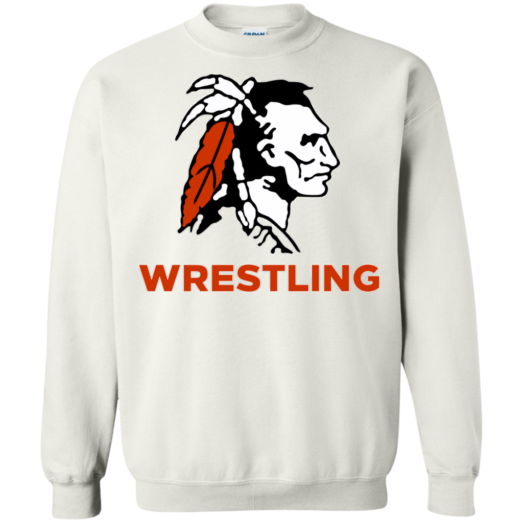 Crewneck Sweatshirt - Cambridge Wrestling - Indian Logo