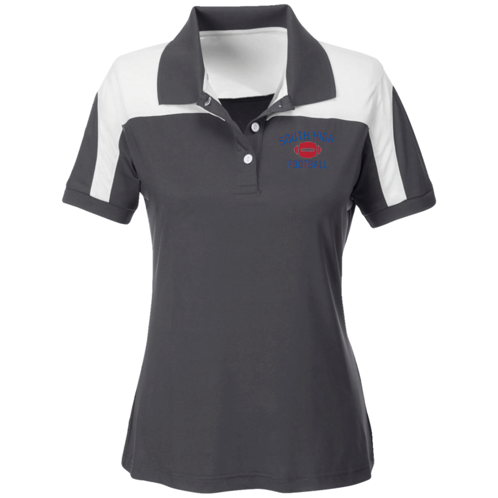 Women's Solid Polo - South Glens Falls Football