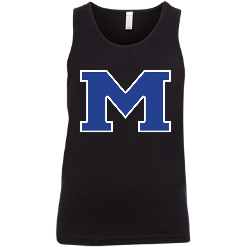 "Youth Tank Top - Middletown Block ""M"""