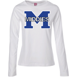 Women's Long Sleeve T-Shirt - Middletown Middies