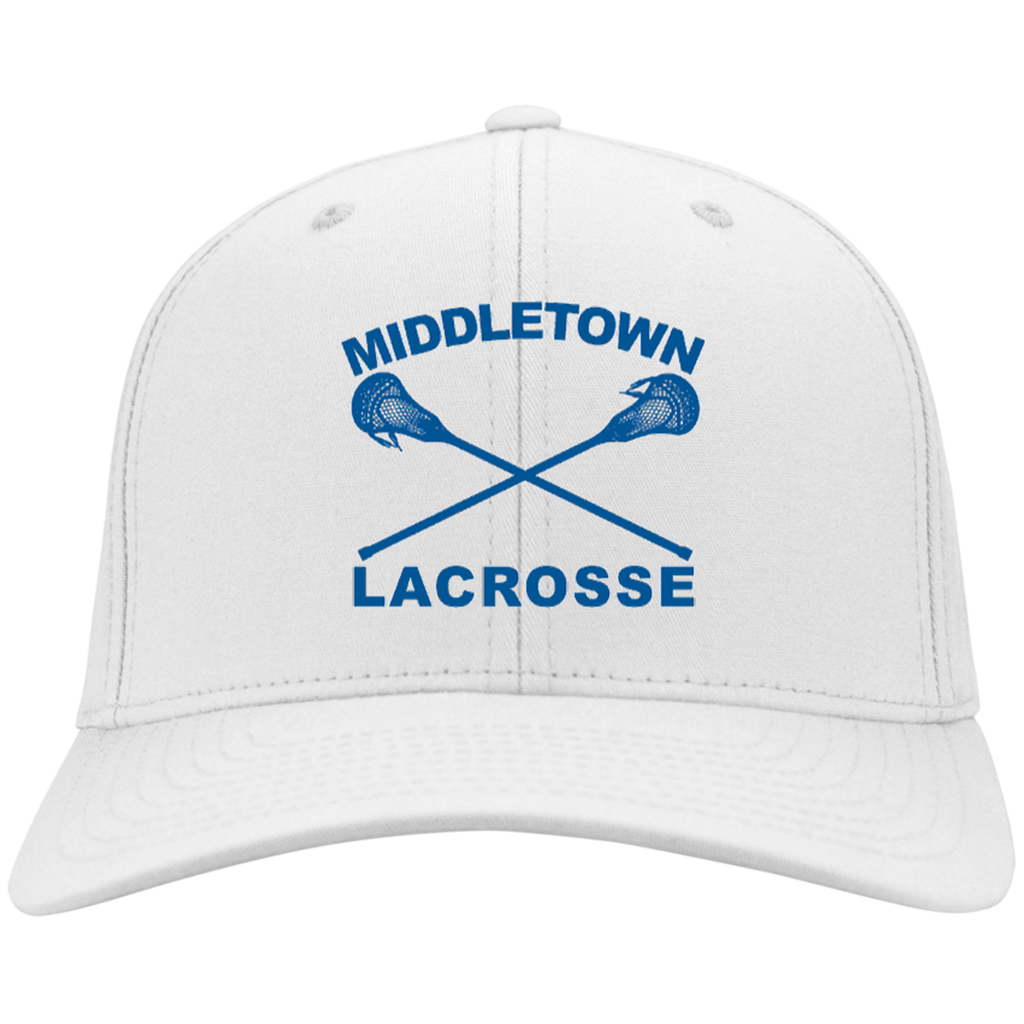 Twill Hat - Middletown Girls Lacrosse - Sticks Logo