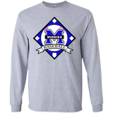 Men's Long Sleeve T-Shirt - Middletown Baseball - Diamond Logo