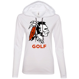 Women's T-Shirt Hoodie - Cambridge Golf - Indian Logo