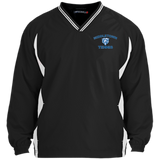 Youth Colorblock V-Neck Pullover - Middletown Tennis - Bear Logo