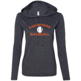Women's T-Shirt Hoodie - Cambridge Baseball