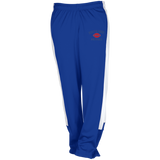 Football Vector Logo Outline_Pantone TT44W Team 365 Ladies' Performance Colorblock Pants