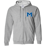 Men's Full-Zip Hooded Sweatshirt - Middletown Block