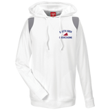 Men's Colorblock Hooded Sweatshirt - South Glens Falls Cheerleading