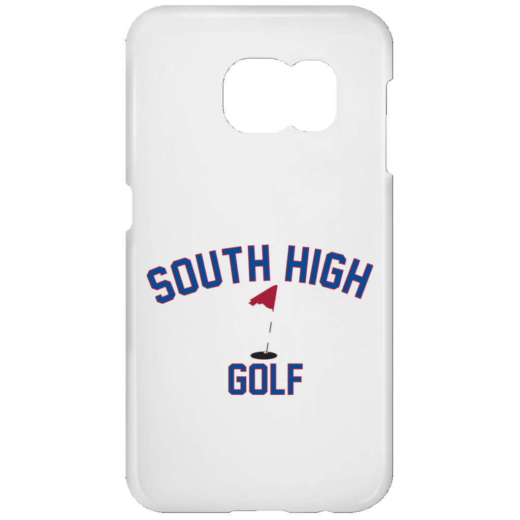 Golf Vector Logo Outine_Pantone Samsung Galaxy S7 Phone Case