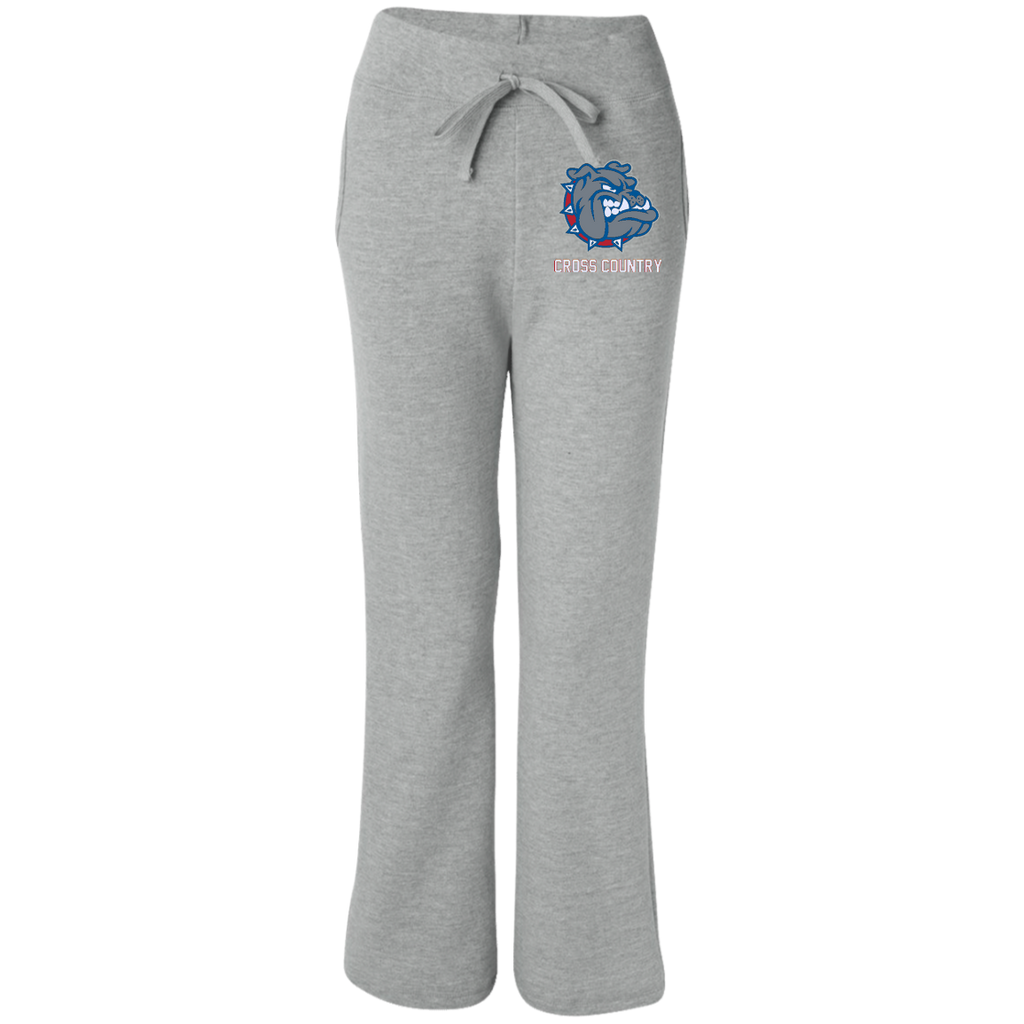 G184FL Gildan Women's Open Bottom Sweatpants with Pockets