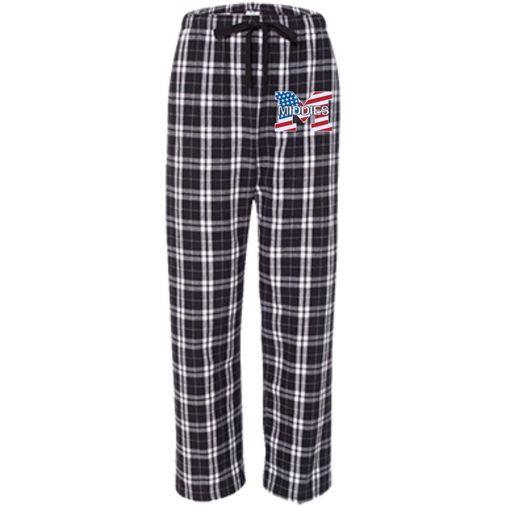 Youth Flannel Pants - Middletown American Flag