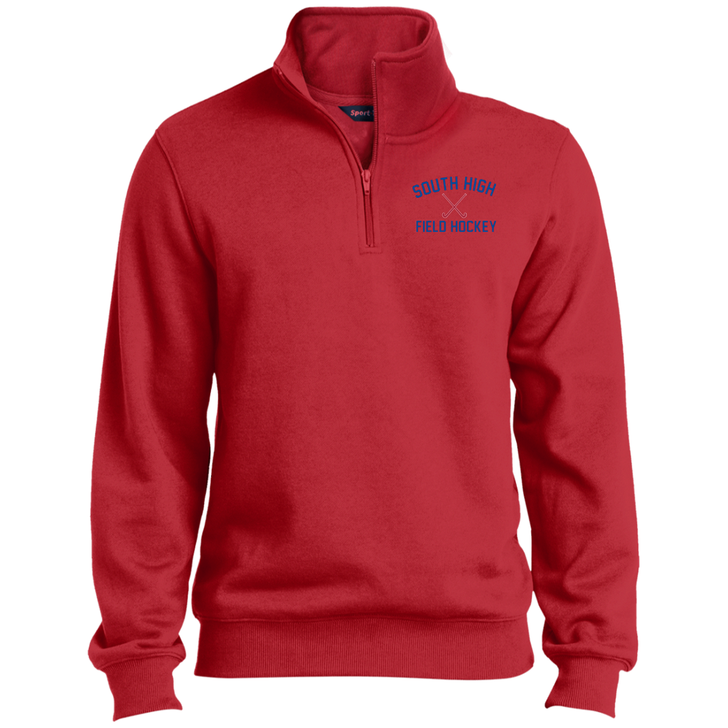 Men's Quarter Zip Sweatshirt - South Glens Falls Field Hockey