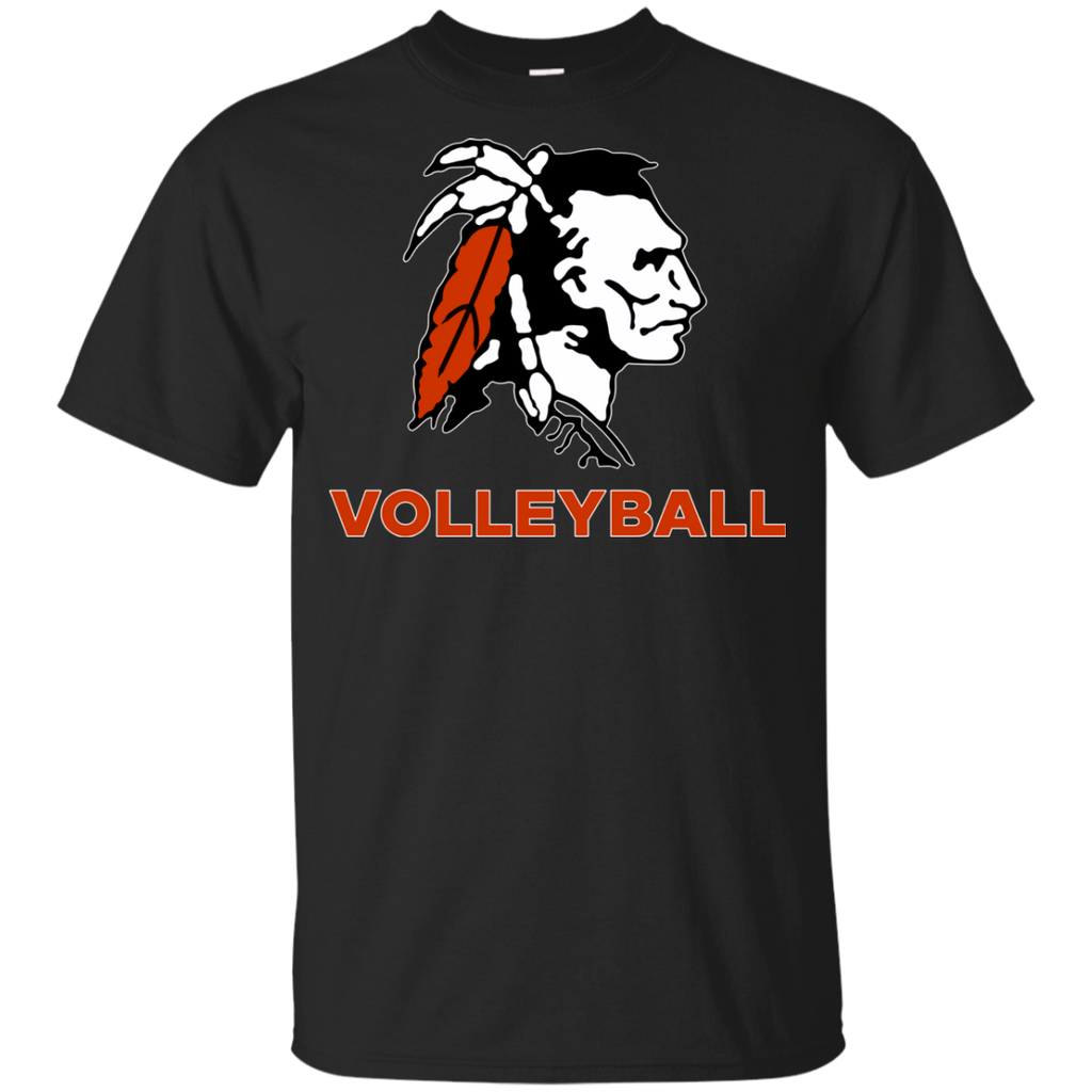Youth Cotton T-Shirt - Cambridge Volleyball - Indian Logo