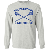 Youth Long Sleeve T-Shirt - Middletown Girls Lacrosse - Sticks Logo