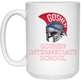 15 oz. Coffee Mug - Goshen Intermediate School