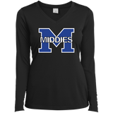 Women's Moisture Wicking Long Sleeve T-Shirt - Middletown Middies