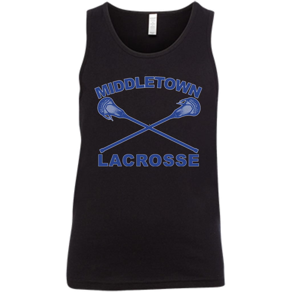 Youth Tank Top - Middletown Girls Lacrosse - Sticks Logo