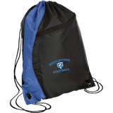 Drawstring Bag with Zippered Pocket - Middletown Football