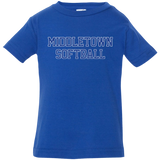 Infant T-Shirt - Middletown Softball - Block Logo