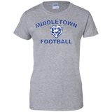 Women's Cotton T-Shirt - Middletown Football
