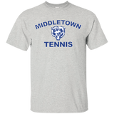 Men's Cotton T-Shirt - Middletown Tennis - Bear Logo