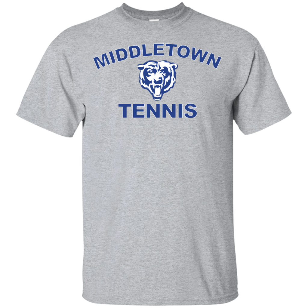 Youth Cotton T-Shirt - Middletown Tennis - Bear Logo