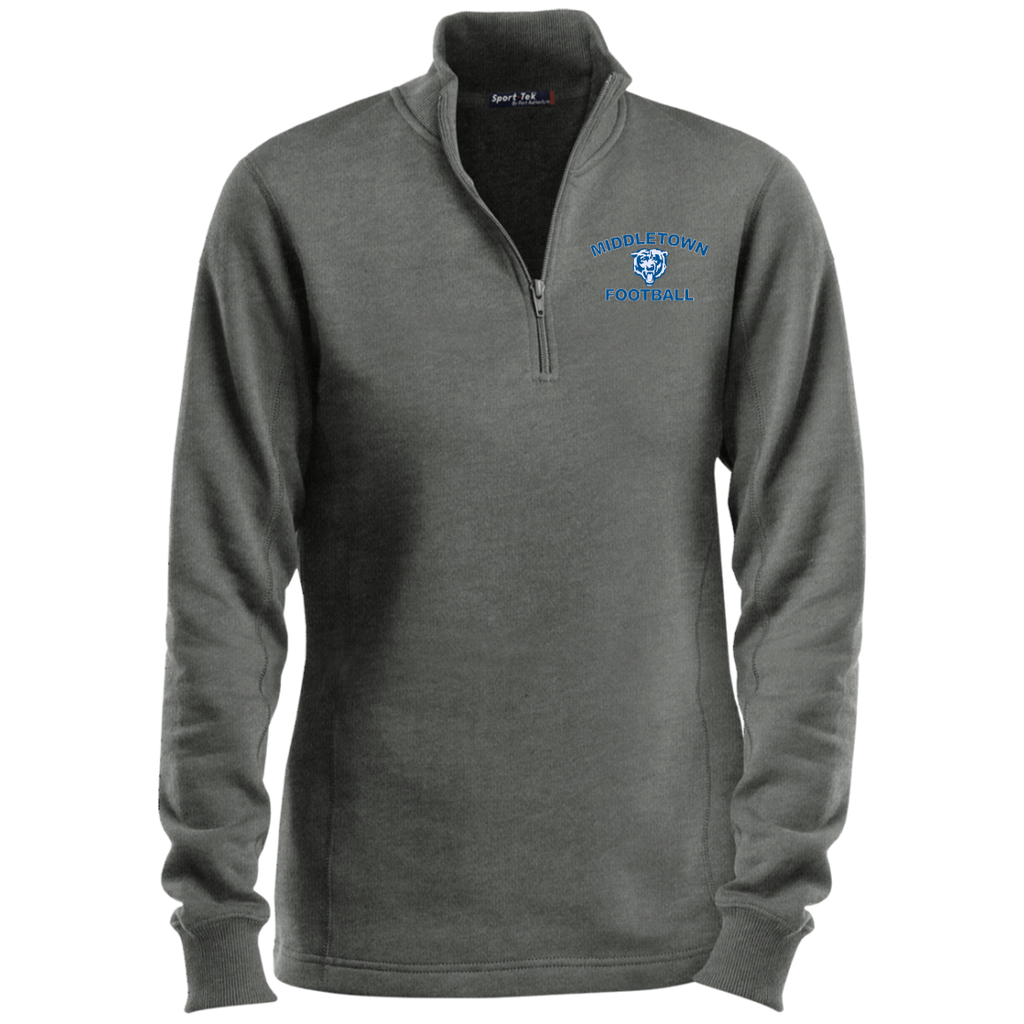 Women's Quarter Zip Sweatshirt - Middletown Football