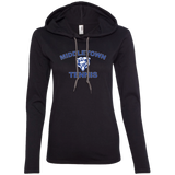 Women's T-Shirt Hoodie - Middletown Tennis - Bear Logo