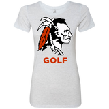 Women's Premium T-Shirt - Cambridge Golf - Indian Logo