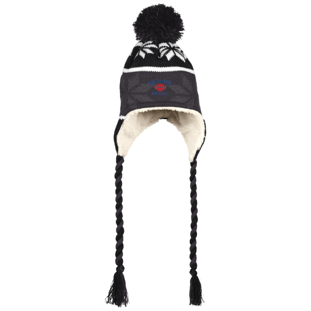 Winter Hat with Ear Flaps - South Glens Falls Football