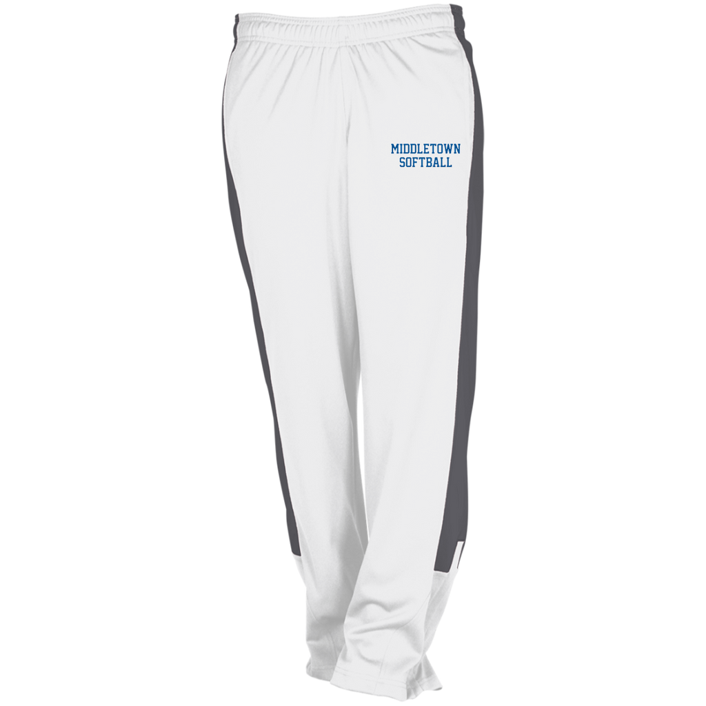 Women's Wind Pants - Middletown Softball - Block Logo