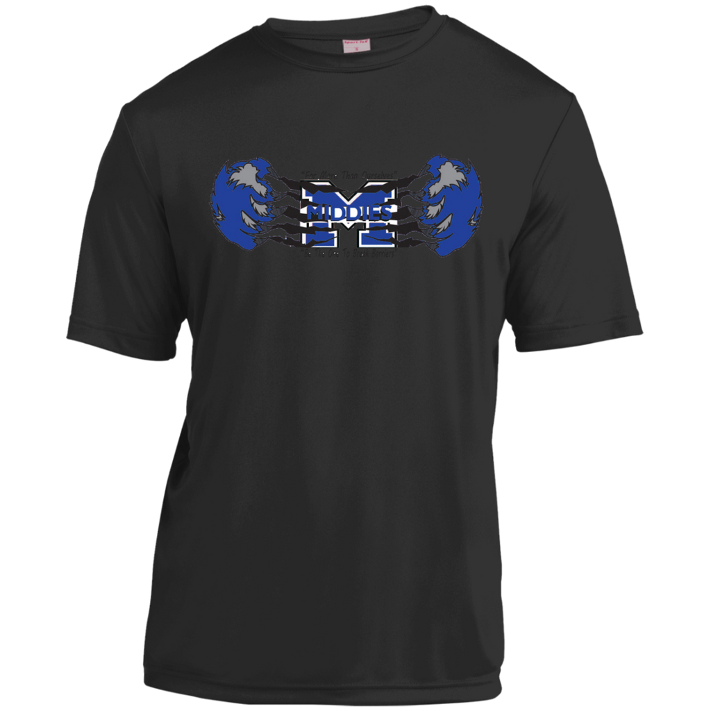 Men's Moisture Wicking T-Shirt - Middletown Unified Basketball